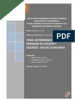 2 -determinación de la densidad de sólidos y líquidos _uso de la balanza