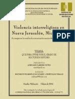 2014 Tesis Amm Violencia Interreligiosa Nuevajerusalen