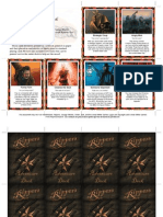 Savage Worlds [Acc] - Adventure Deck (Rippers)