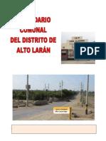 ALTO LARÁN - CALENDARIO COMUNAL 2014