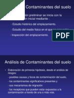 Criterios y estándares declaración suelos contaminados