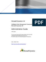 Data Management Framework Administration Guide