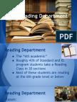 reading department