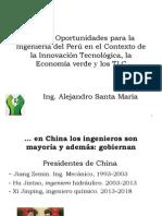 Retos y Oportunidades para la Ingeniería del Perú. AASMS