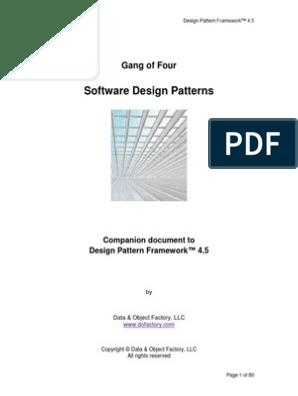 dofactory design pattern framework 4.5