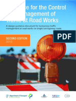 Guidance for the Control and Management of Traffic at Roadworks