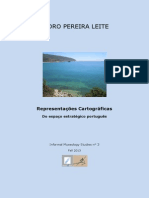 Representações Cartográficas do Espaço Estratégico Português