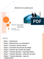 Aspectos Laborales disertacion