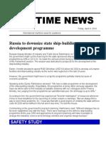 Maritime News 04 Apr 14
