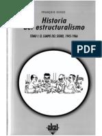 Dosse, François - El corte saussuriano, en Historia del estructuralismo
