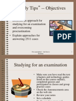 exam Exam Study Tips
