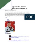 30 de noviembre de 2013 Andrade (PS) pide unidad en Nueva Mayoría y afirma que no es tiempo de 'llaneros solitarios'