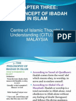 The Concept of Worship (Ibadah) in Islam