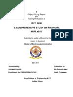 Avinash Purohit FINACIAL REPORT