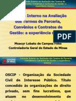 Apresentacao Do Controlador Geral de Minas Gerais - Moacyr Lobato