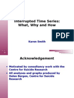 Interrupted Time Series