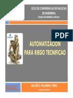 Automatizacion Para Riego Tecnificado