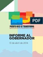 Mesa Multisectorial - Informe Al Gobernador