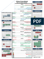 2013-14 school calendar approved 3-31-2013-includes report card dates revised 7-22-13