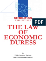 Law of Economic Duress
