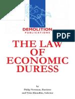 Law of Economic Duress