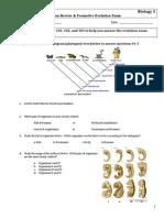 ds104 evolution rev  formative ev exam