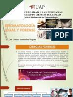 Primera Clase Estomatologia Legal y Forense
