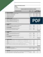 Anexo VII - Planilha Quantitativa de Servicos e Precos