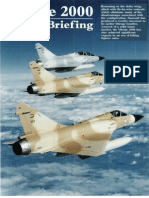 Dassault Mirage 2000 Variant Briefing
