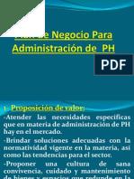 Plan de Negocio Para Administración de  PH
