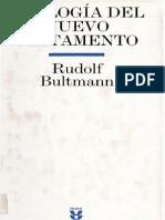 Teología del Nuevo Testamento, Rudolf Bultman