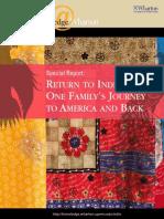 Return to India Wharton Special Report