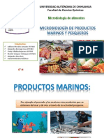 Microbiologia de Productos Marinos y Pesqueros.