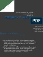 Desporto e Musica - Analise de Dados - Area de Projecto