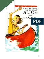 Caroline Quine Alice Roy 12 IB Alice Au Canada 1935