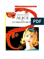 Caroline Quine Alice Roy 38 IB Alice Et Le Dragon de Feu 1961