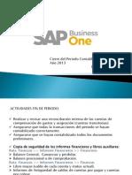 Cierre Del Periodo Contable SAP