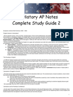 AP US History Study Guide 2