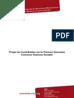 Projet de Contribution Premier Semestre Commun PDF