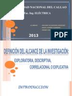 Definicion de Alcance de La Investigacion Cientifica