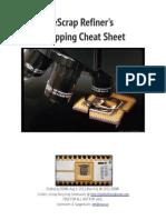 eScrap Refiners Shopping Cheat Sheet - Rev 0.6