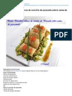 Lesreceptesdelmiquel.blogspot.com.Es-Pasta Paccheri Rellenos de Ceviche de Pescado Sobre Cama de Guacamole