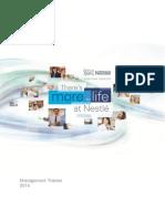 Nestle Management Trainee 2014