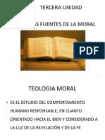 Tercera Unidad- Las Fuentes de La Moral