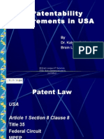 Patentability Requirements in USA