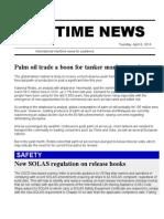 Maritime News 08 April 14