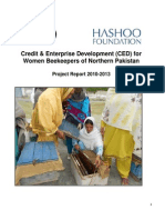 Credit & Enterprise Development Program Report 2010-2013 for Rice Microfinance (RMF)