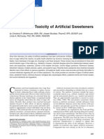 Whitehouse_the Potential Toxicity of Artificial Sweeteners