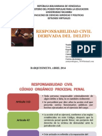 Responsabilidad Civil Penal