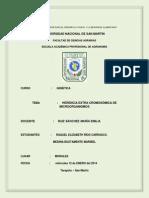 HERENCIA EXTRA CROMOSÓMICA DE MICROORGANISMOS